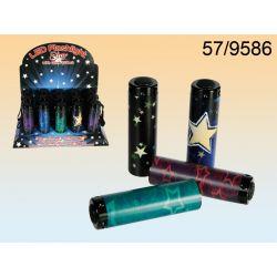 Latarka 9 LED + świecące gwiazdki