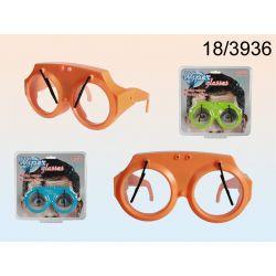 Okulary z wycieraczkami + świecące diody LED