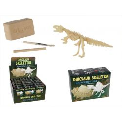 Odkryj szkielet dinozaura