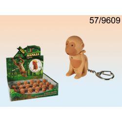 Brelok małpka małpka wydaje odgłosy