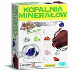 Wykopaliska - minerały dziecko pozna skarby Ziemi