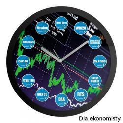 Odjazdowe zegary Dla ekonomisty