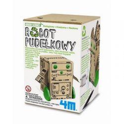 Robot pudełkowy Ekologiczny robot do samodzielnego