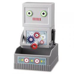Robot puszczający bańki zabawa z bańkami mydlanymi