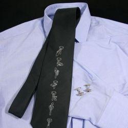 Krawat z instrukcją Graficzna instrukcja wiązania