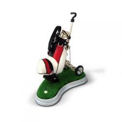Wózek golfowy z greenem Wypasiony wózek z 3 długop