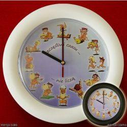Zegar seksu Pozycje seksualne według wskazówek zeg