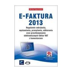E-Faktura 2013 Regulamin wdrożenia, wystawiania, p