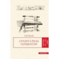 Cytaty z życia i literatury Lidia Burska r.2012