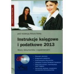 Instrukcje księgowe i podatkowe 2013 - Wzory doku
