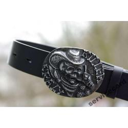 Pasek do jeansu CRAZY KILLER - LEATHER BELT