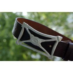 Pasek do jeansu skóra naturalna - LEATHER BELT