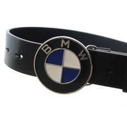 Pasek do jeansu BMW LOGO - LEATHER BELT