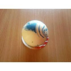 Piłka gumowa pełna mała