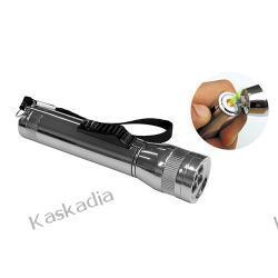 Latarka LED  4 diody z zapalniczką