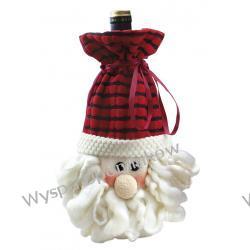 Świąteczna torba na wino lub upominki