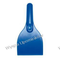 Skrobaczka do samochodowych szyb w kolorze niebieskim