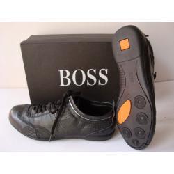 1897bd9965a6e Buty męskie z kolekcji Hugo Boss wykonane z wysokiej jakości skóry