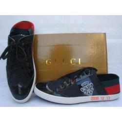 Buty męskie z kolekcji Gucci wykonane ze skóry,niespotykane w Polsce
