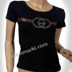 t-shirt damski marki Gucci 100% bawełna