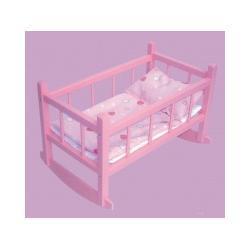 Łóżeczko-kołyska dla lalek Lalki i akcesoria