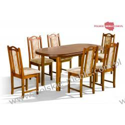 Stół Ares + krzesła P-11 (6szt) - zestaw MM21