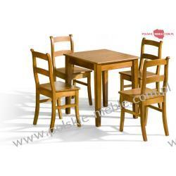Stół BELG + krzesła K-9 (4szt) - zestaw MM8