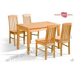 Stół DUO + krzesła K-8 (4szt) - zestaw MM31