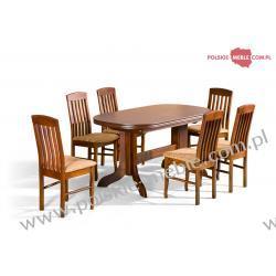 Stół Mars + krzesła P-7 (6szt) - zestaw MM12