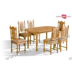 Stół ORION + krzesła SW (6szt) - zestaw MM28