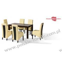 Stół POLO + krzesła U-6 (6szt) - zestaw MM5