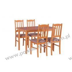 Stół MAX 4 + krzesła BOSS 3 (4szt.) - zestaw DX2