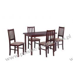 Stół MAX 4 + krzesła BOSS 4 (4szt.) - zestaw DX3