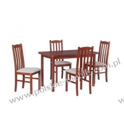Stół MAX 4 + krzesła BOSS 12 (4szt.) - zestaw DX4