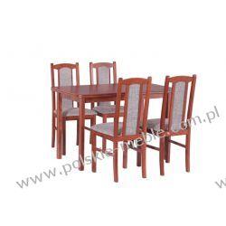 Stół MAX 4 + krzesła BOSS 7 (4szt.) - zestaw DX5