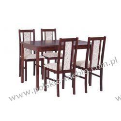 Stół MAX 6 + krzesła BOSS 14 (4szt.) - zestaw DX82