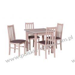 Stół MAX 7 + krzesła BOSS 10 (4szt.) - zestaw DX12