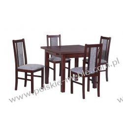 Stół MAX 8 + krzesła BOSS 14 (4szt.) - zestaw DX13