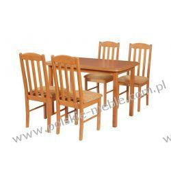 Stół MAX 4 + krzesła BOSS 12 (4szt.) - zestaw DX52