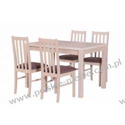 Stół MAX 5 + krzesła BOSS 10 (4szt.) - zestaw DX54
