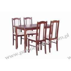 Stół MAX 4 + krzesła BOSS 7 (4szt.) - zestaw DX55