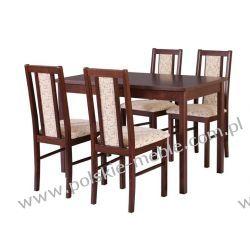 Stół MAX 6 + krzesła BOSS 14 (4szt.) - zestaw DX57