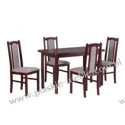Stół MAX 4 + krzesła BOSS 7 (4szt.) - zestaw DX10