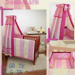 Pościel 6-elementowa C6 Pink Pillow