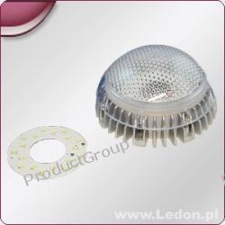 Oprawa LED 18x0,5W- 9W/24V IP65  810 lumenów