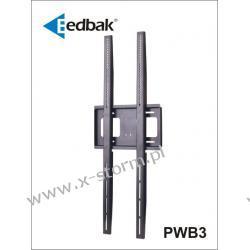 PWB3 Uniwersalny pionowy uchwyt ścienny do ekranów plazmowych/LCD 32-60