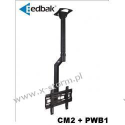 Zestaw CM2 + PWB1 Uchwyt sufitowy do ekranów plazmowych/LCD 32-60