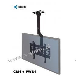Zestaw CM1 + PWB1 Uchwyt sufitowy do ekranów plazmowych/LCD 32-60