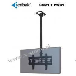 Zestaw CM21 + PWB1 Uchwyt sufitowy do ekranów plazmowych/LCD 32-60