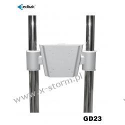 GD23 Uchwyt - adapter VESA 75x75mm / 100x100mm do wózków TR1 / TR2 / TR3